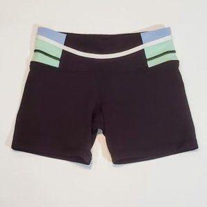 Size 4 - Lululemon Groove shorts *reversible